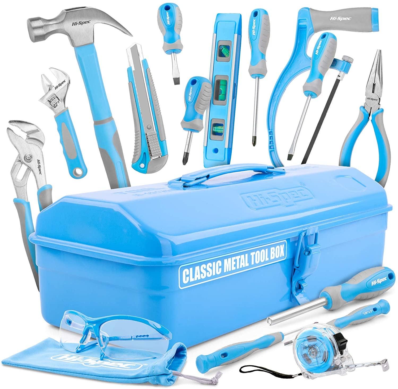 the blue tool set