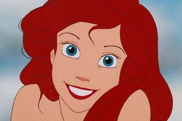 Ariel smiles broadly