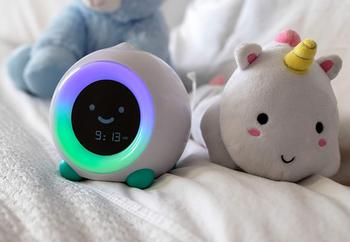 Children's clock in sleep mode