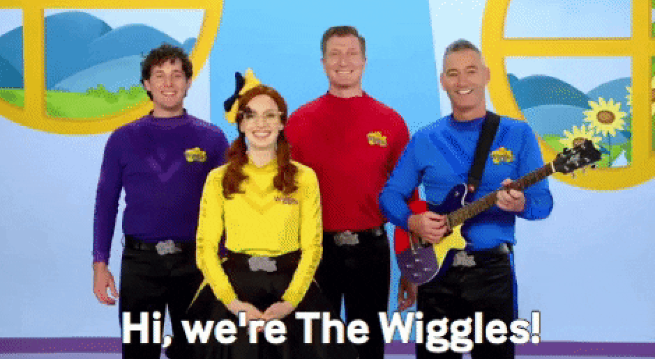 The Wiggles introducing themselves