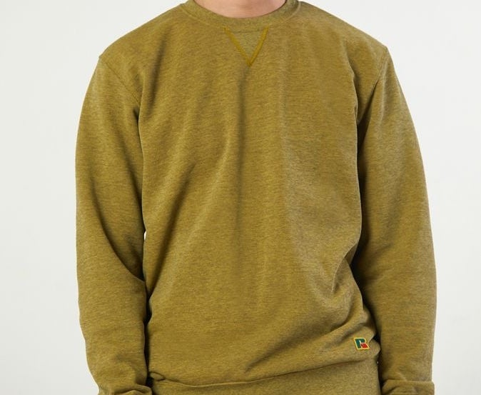 A simple crewneck sweatshirt