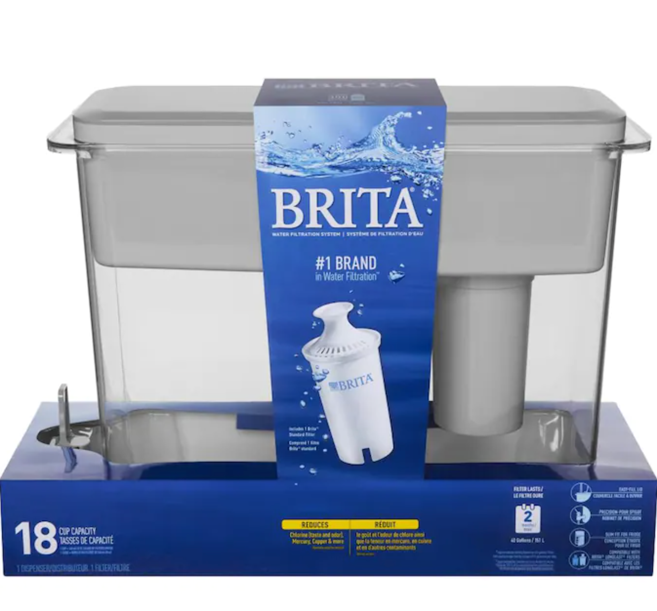 Brita 18-cup water filter
