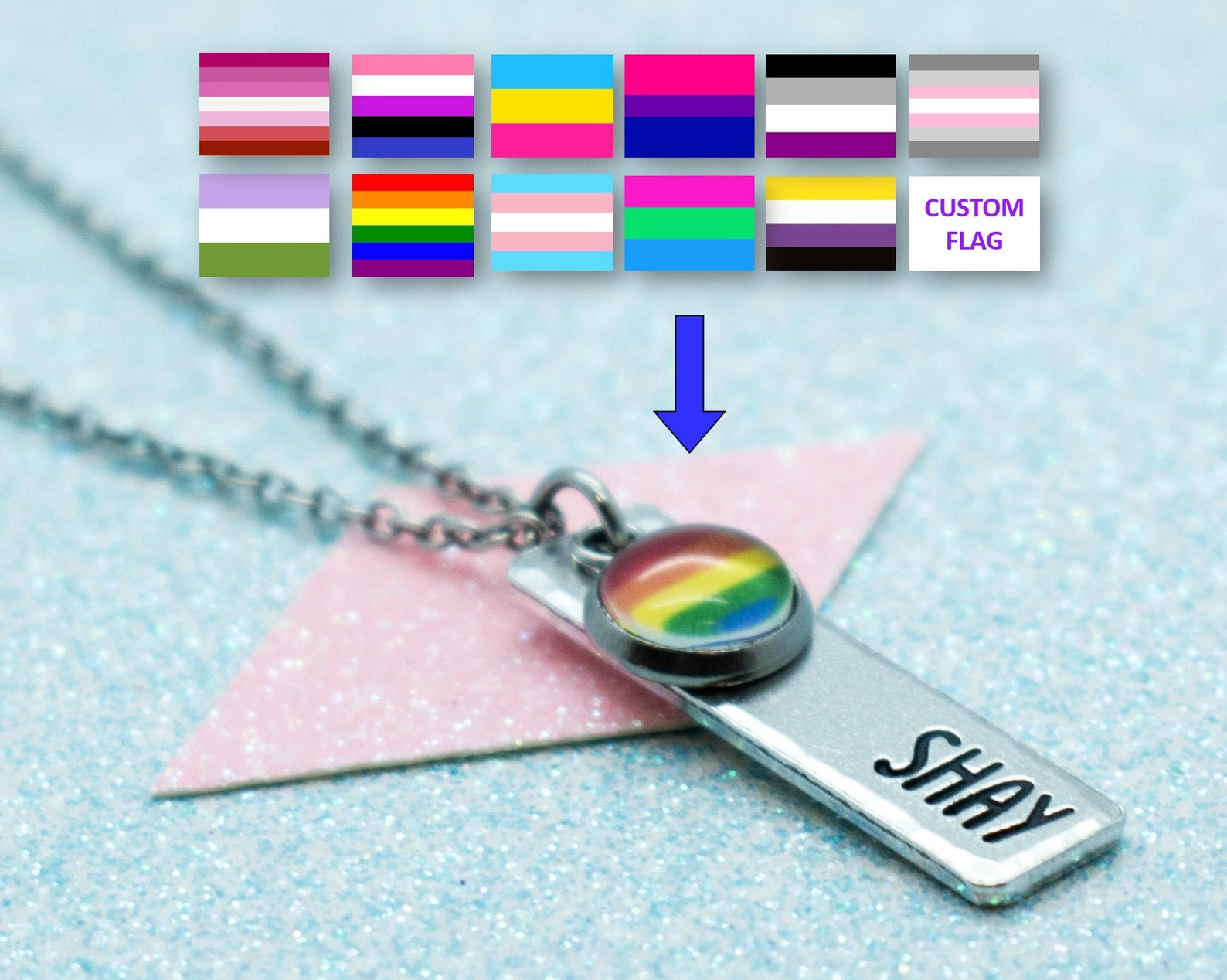 the personalized necklace
