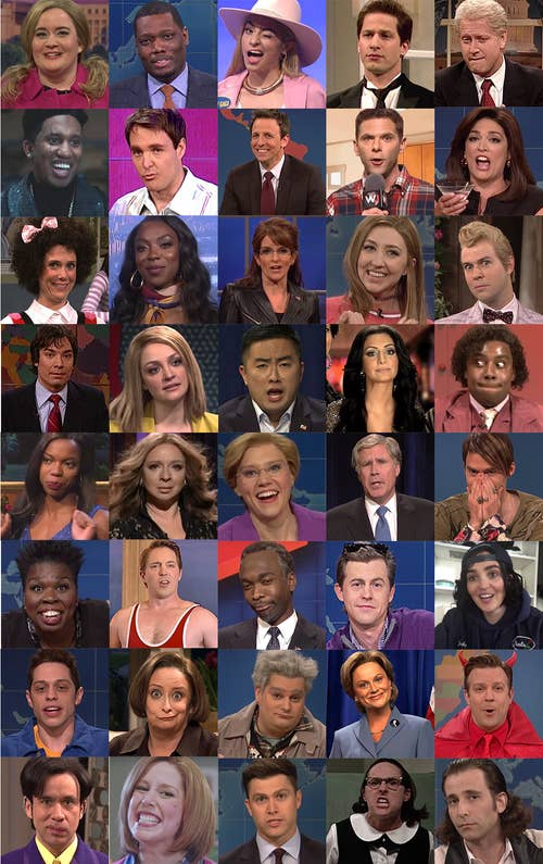 Can You Identify 40 Snl Cast Members