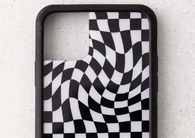 A wavy, trippy kind of phone case