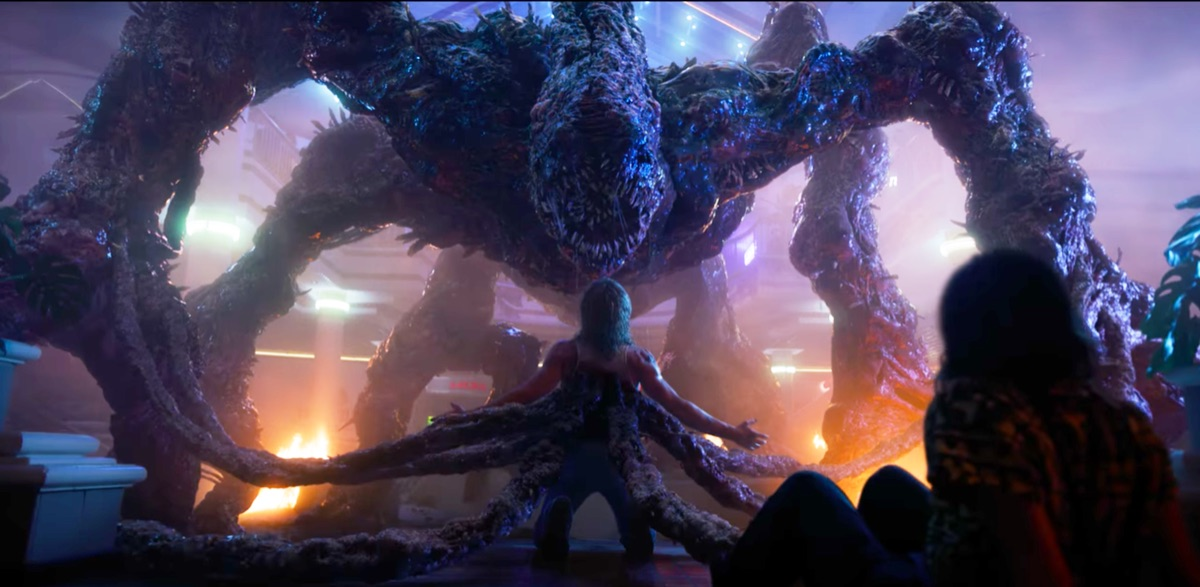 A Mind Flayer is pictured overpowering a character