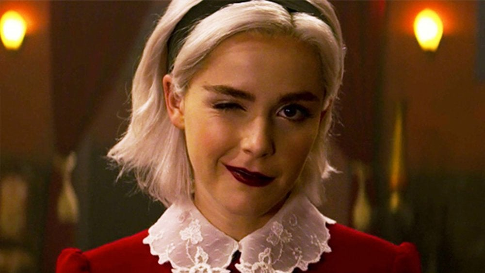 """Kiernan Shipka as Sabrina in """"Chilling Adventures of Sabrina"""""""