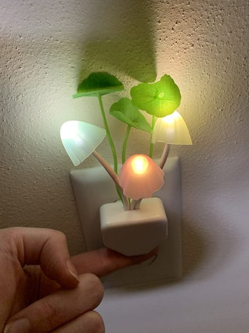 a different reviewer's illuminated nightlight