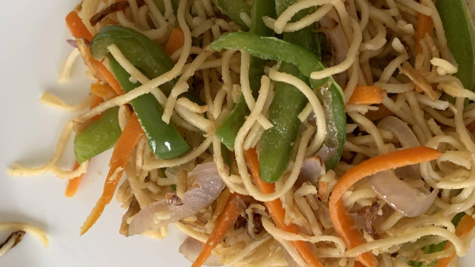Easiest Stir-Fry Noodles