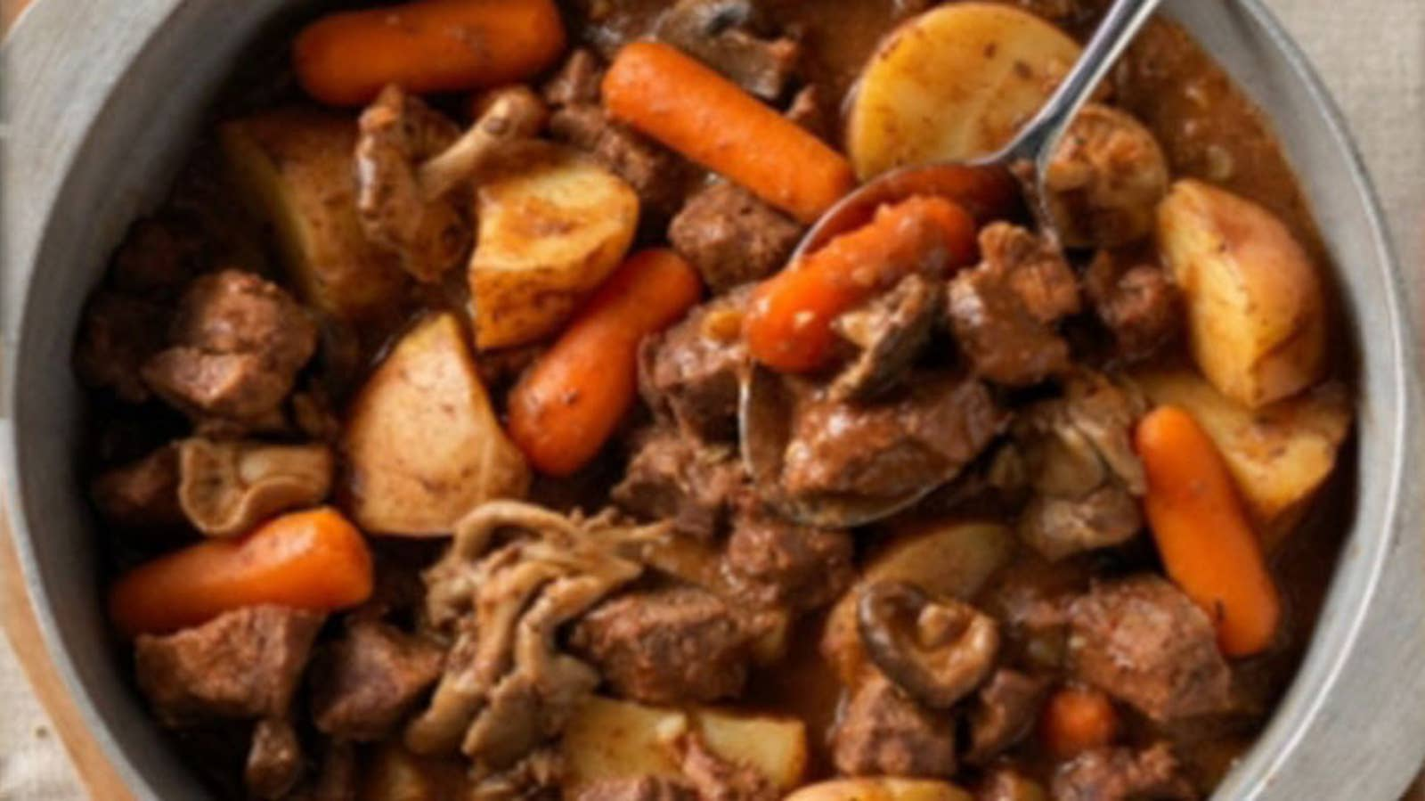 Hearty Crock Pot Beef Stew Recipe By Tasty
