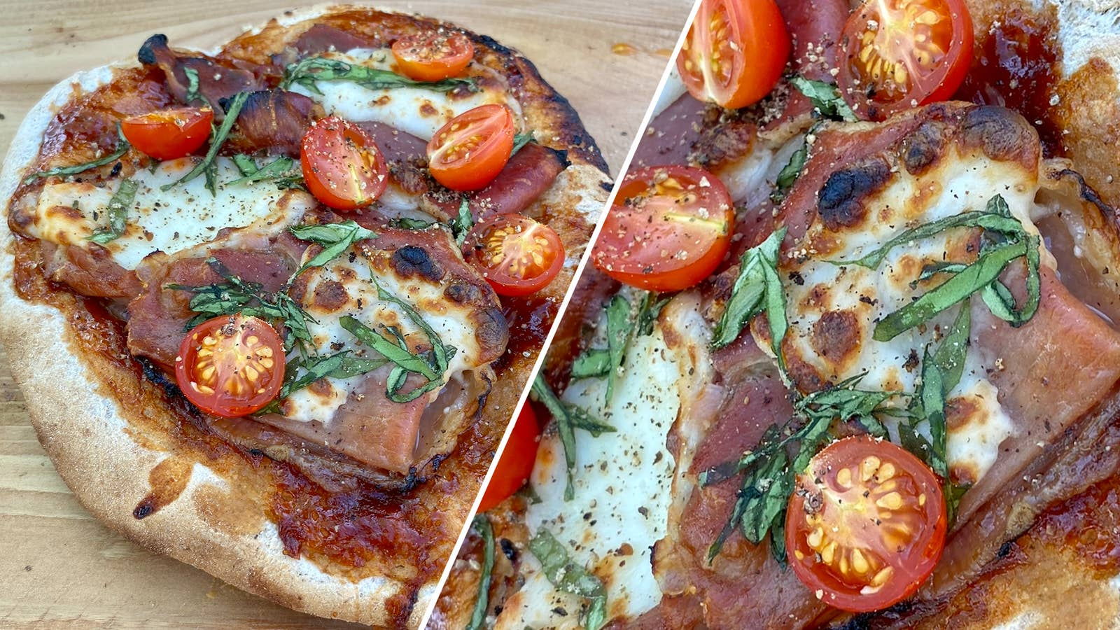 Bannock Pizza As Made By Paul Natrall