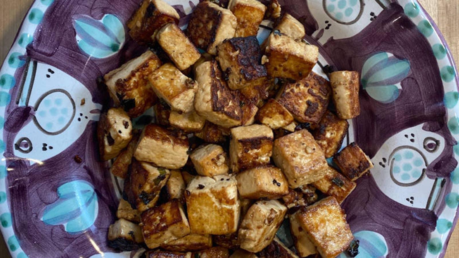 Quick And Easy Marinated Tofu