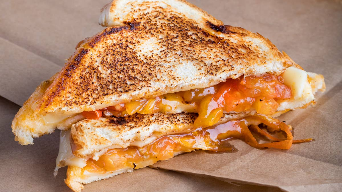 South African-Style Grilled Cheese (Braaibroodjie)