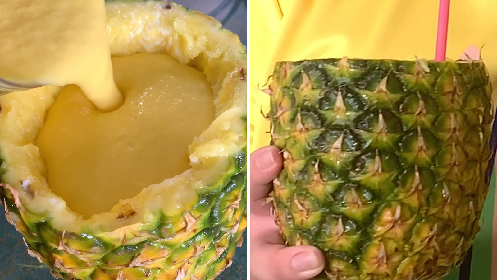 Spiked Pineapple Mango Smoothie