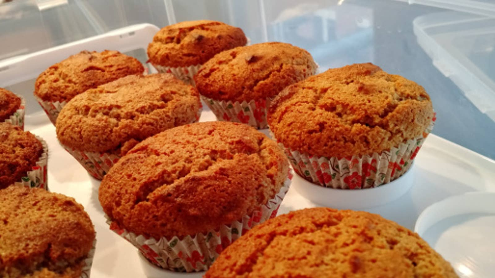 Grain-Free Honey Almond Cinnamon Muffins