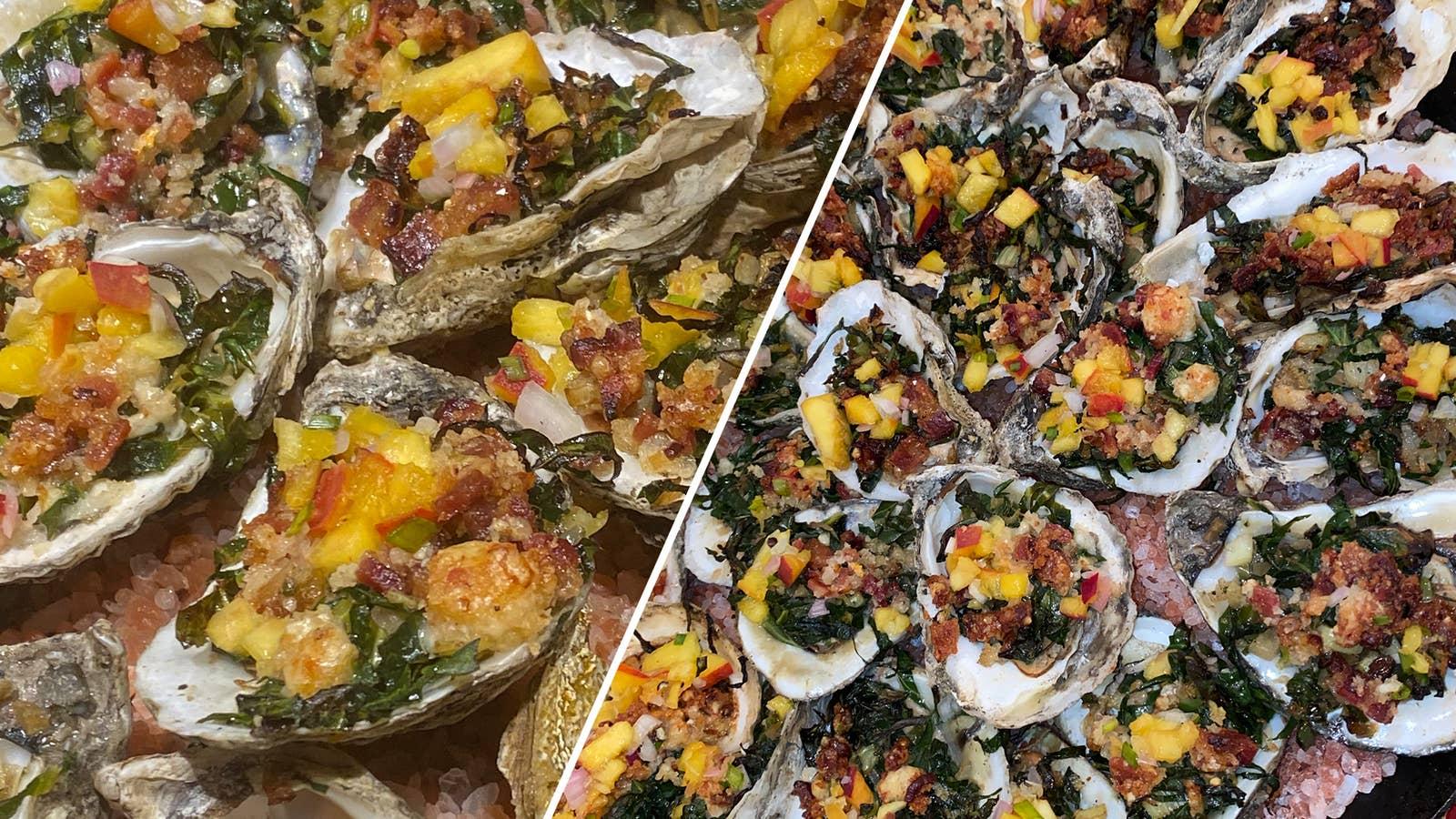 Oysters That Rock A Fella As Made By Deborah Vantrece