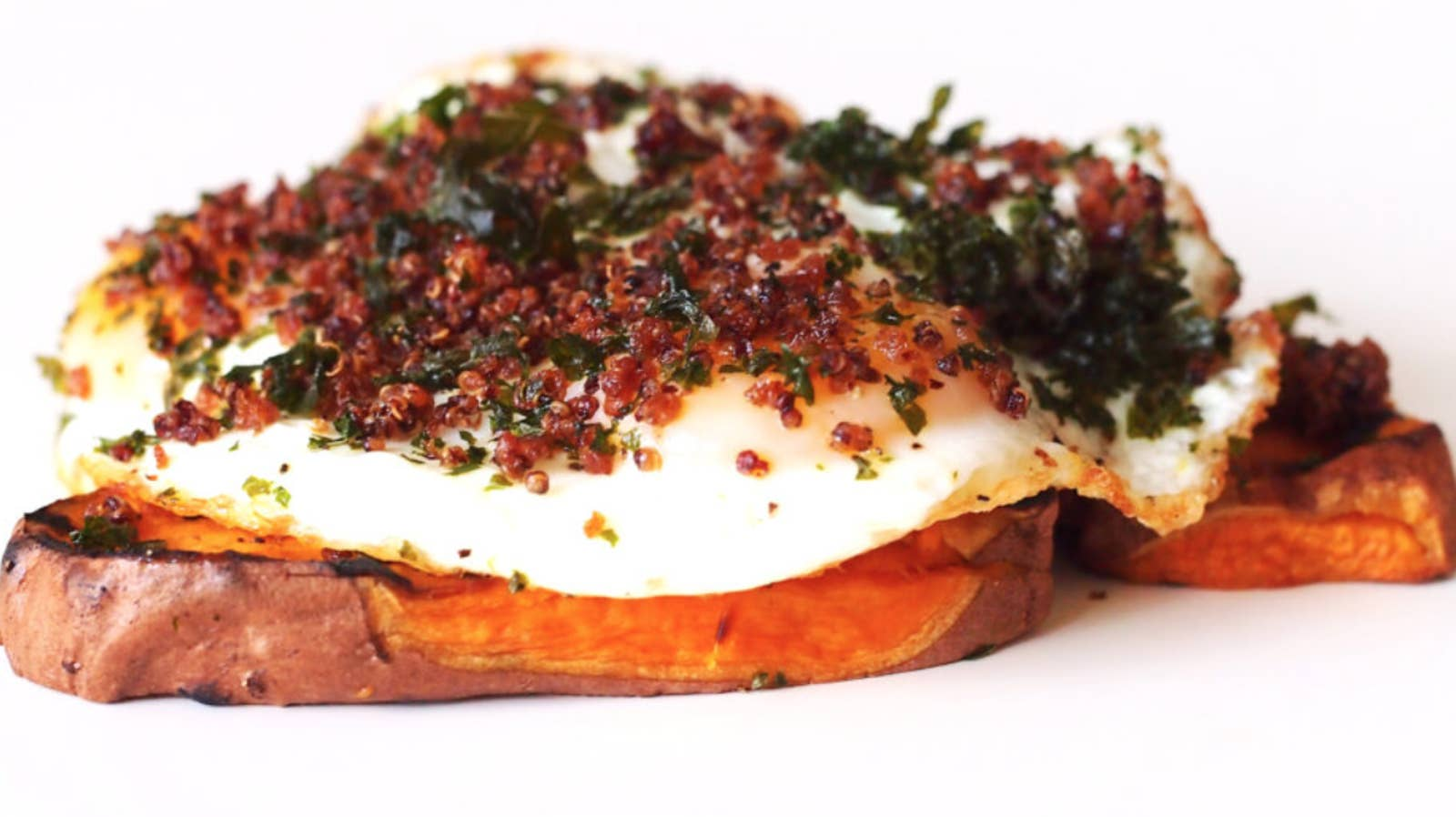 "Stocked Brooklyn's Sweet Potato ""Toast"""