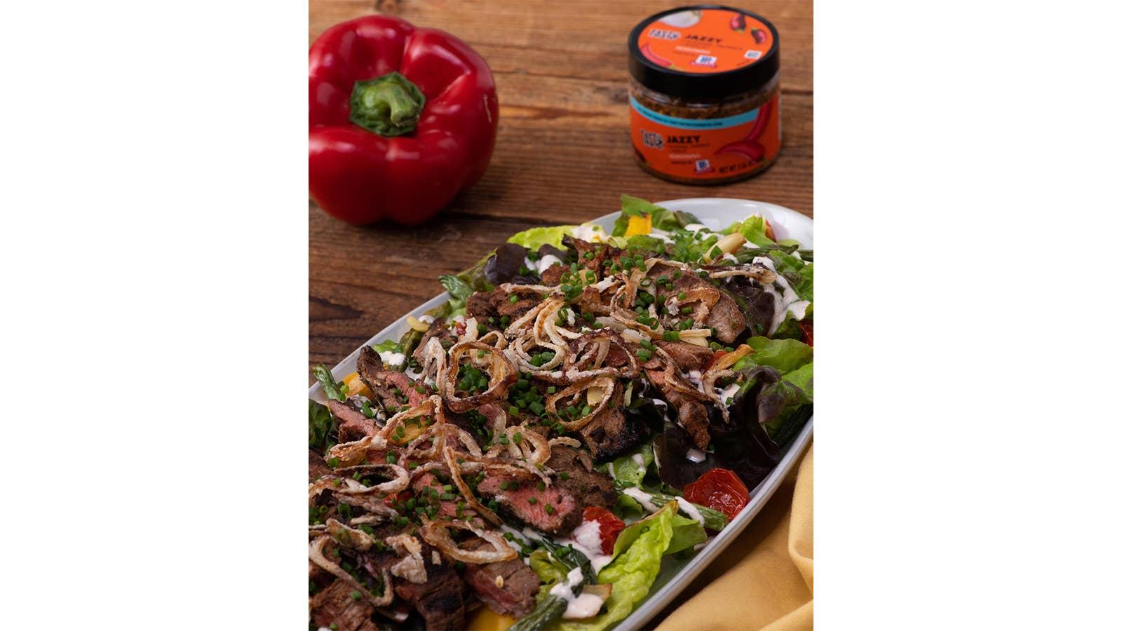 Jazzy Steak Salad