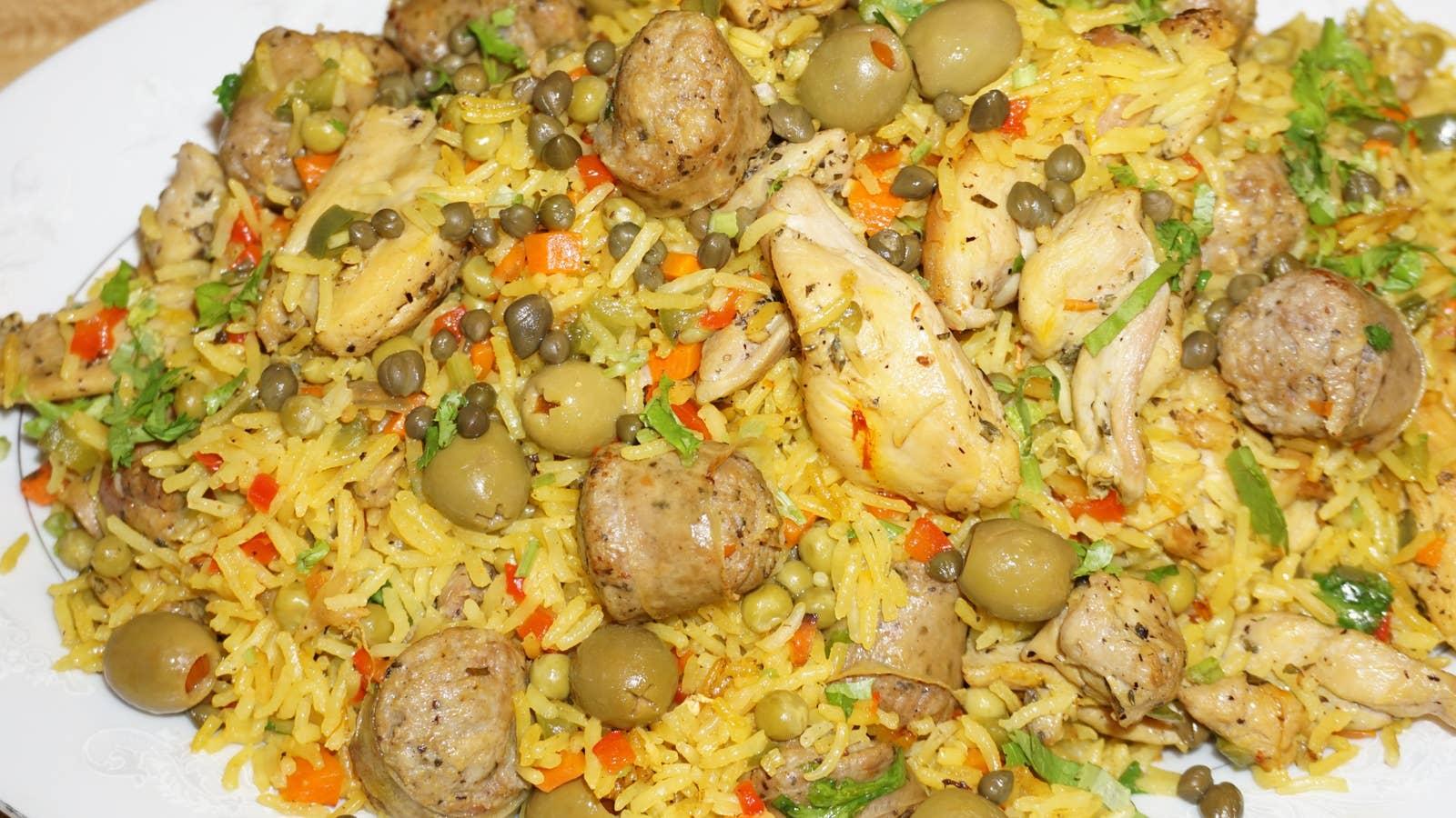 Arroz Con Pollo (Rice With Chicken)