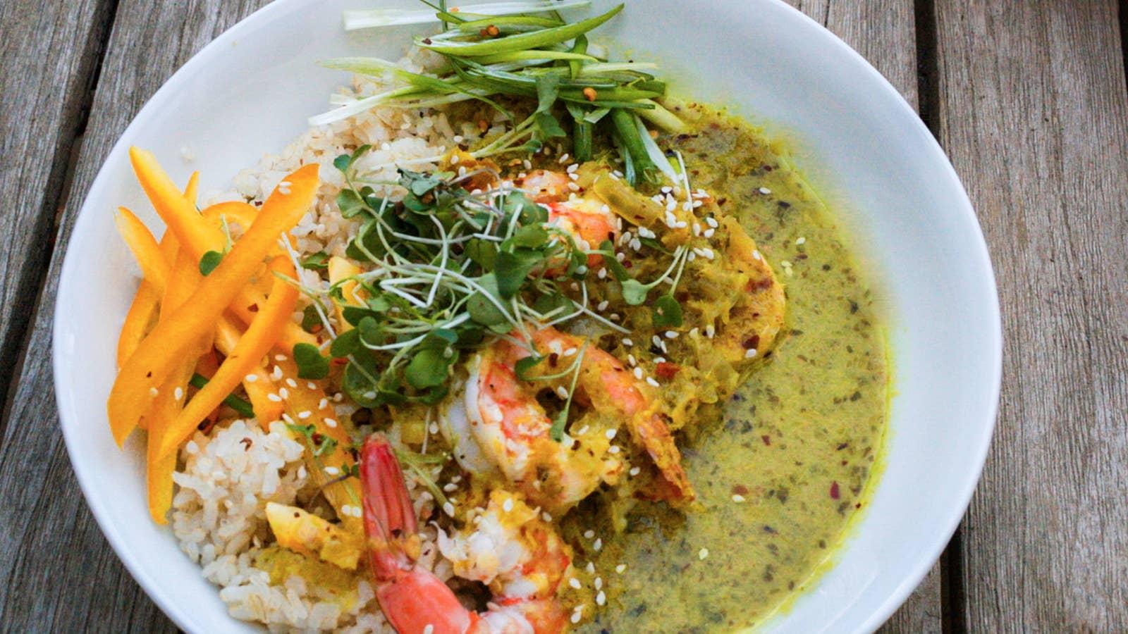 Basil Lemongrass Curry