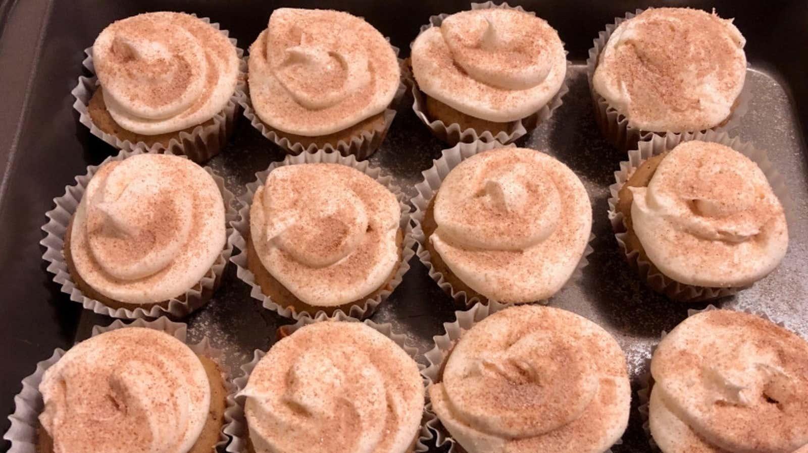 Vegan Snickerdoodle Cupcakes