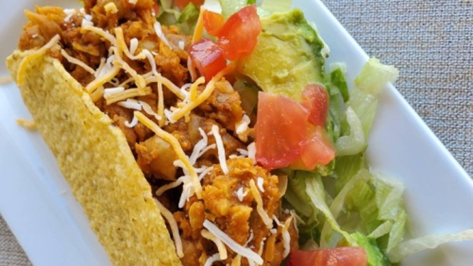 Fusion Chana Masala Tacos