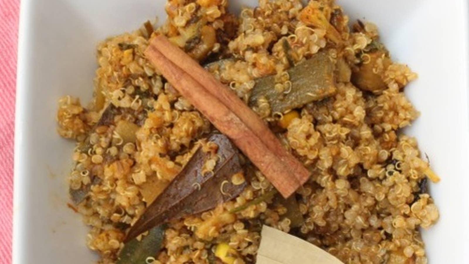 Vegetable Quinoa Biryani