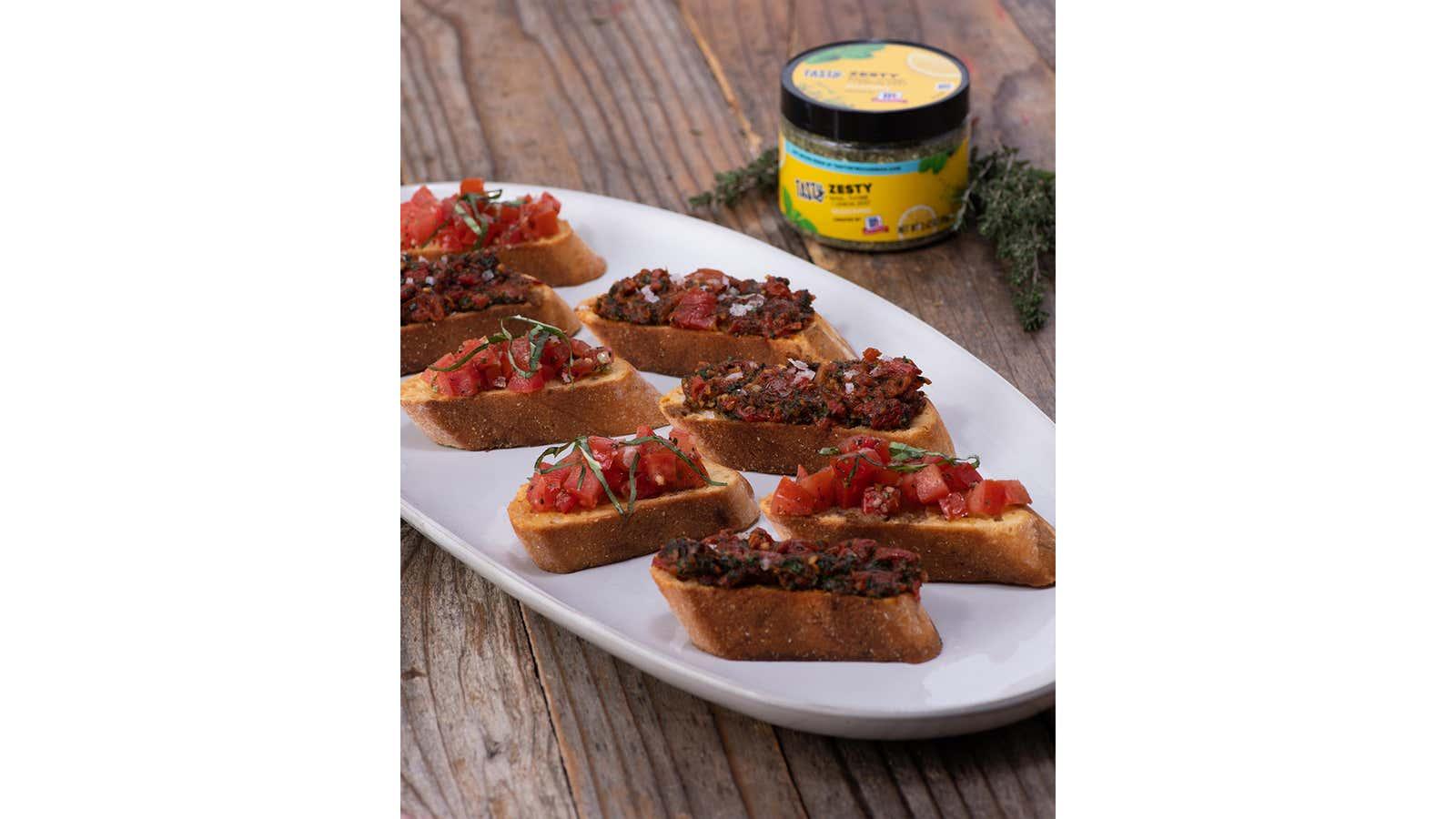 Zesty Tomato Bruschetta 2 Ways: Fresh And Oven-Roasted