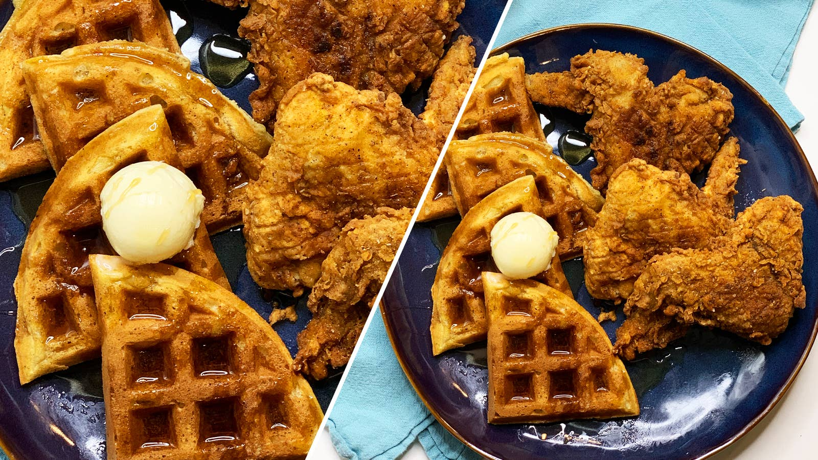 Fried Chicken And Waffles As Made By Breana Jackson