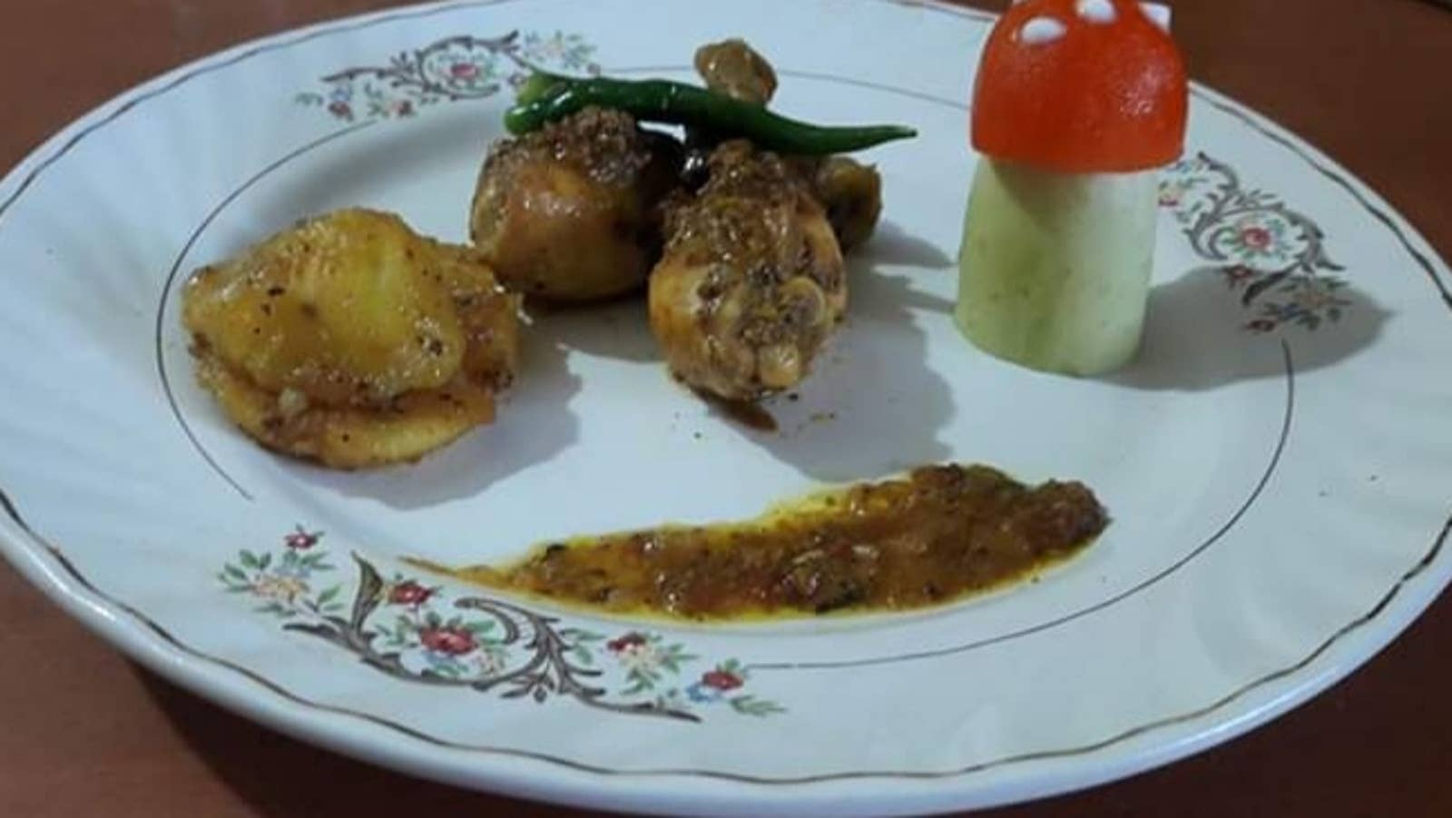 Mum's Pepper Chicken