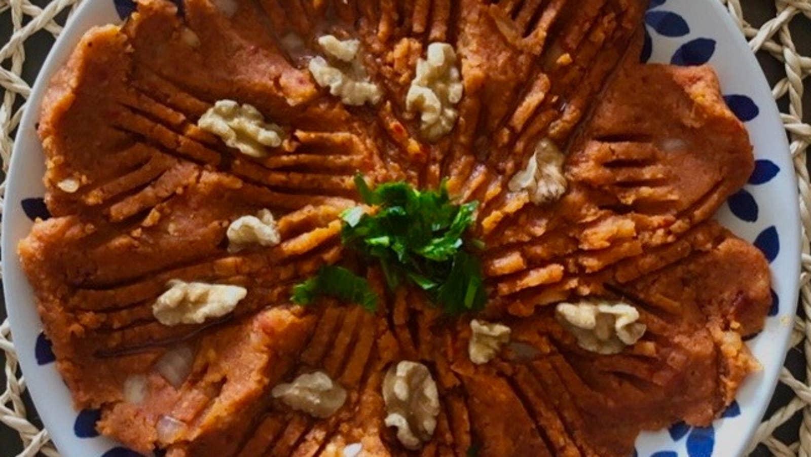 Mashed Potato Kibbeh Nayeh
