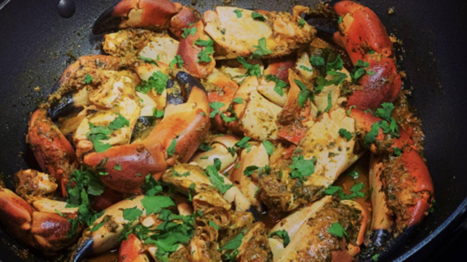 Crab Masala Curry