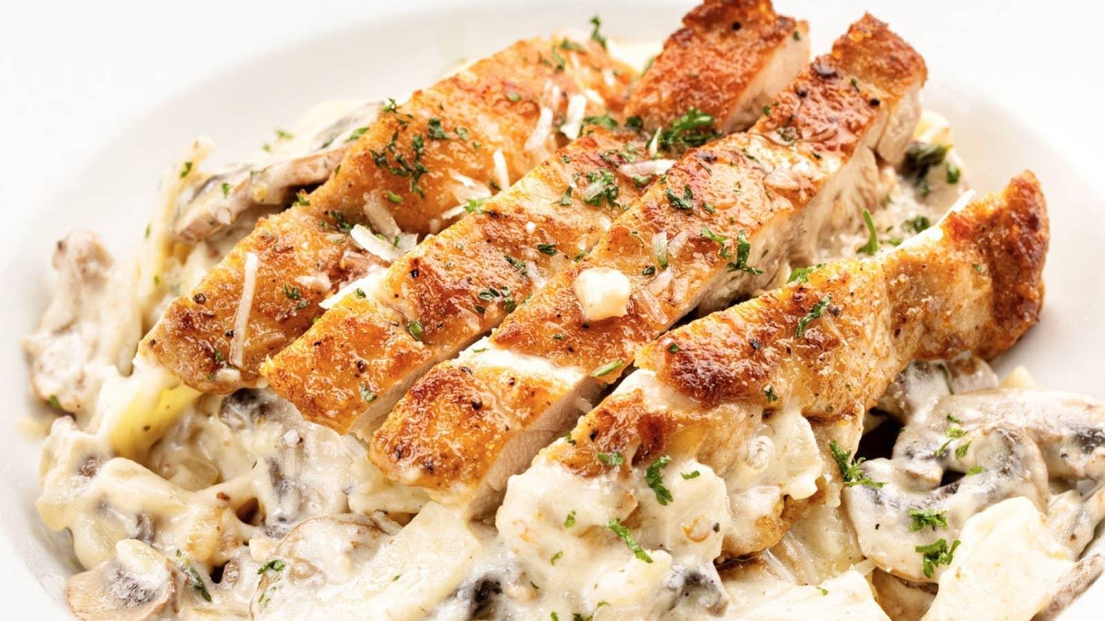 Healthy And Creamy Chicken Alfredo Recipe