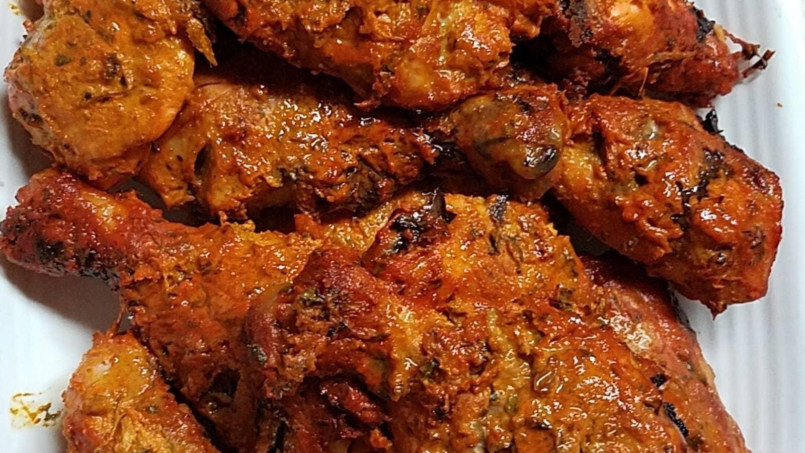 Baked Chicken Tikka