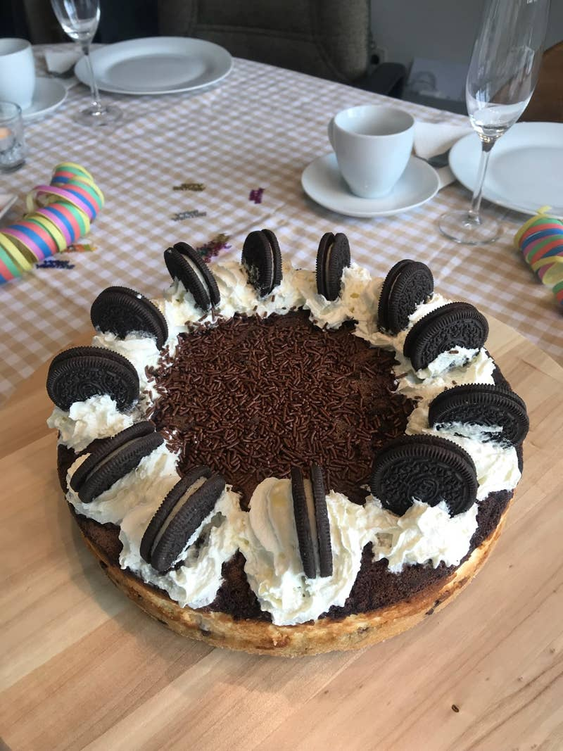 20 Layer Cookie 'Box' Brownie Cheesecake Recipe by Tasty