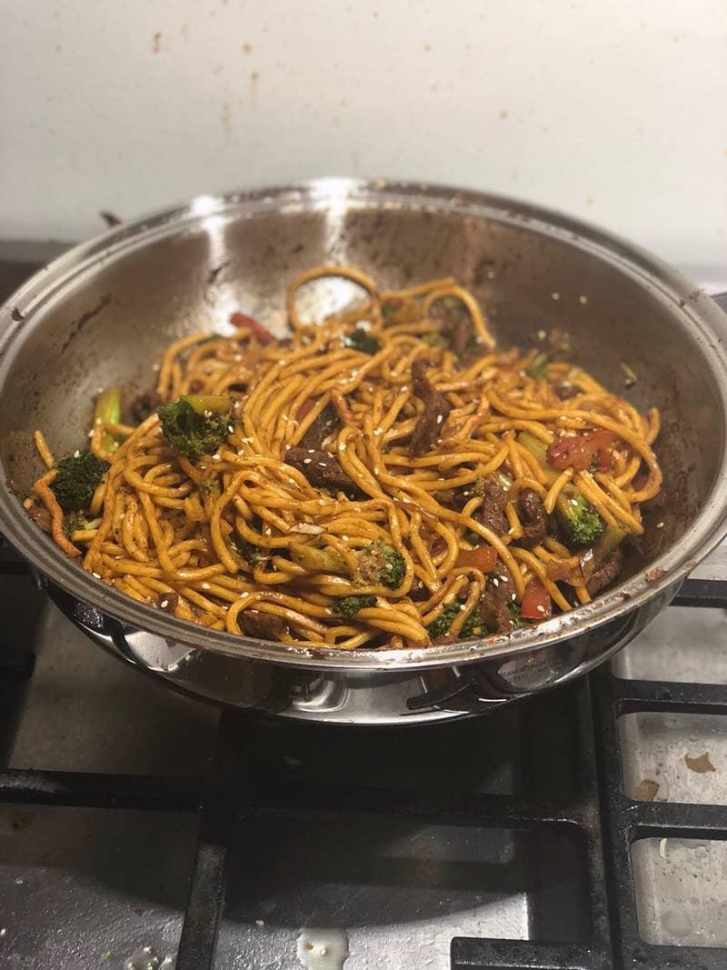 Beef Broccoli Chow Mein Recipe By Tasty