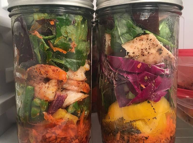 Mason Jar Salad Meal Prep Recipe By Tasty