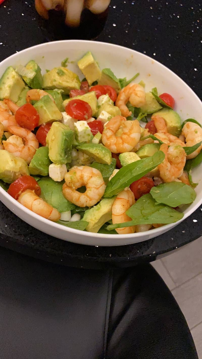 Shrimp Avocado Salad Recipe Tasty