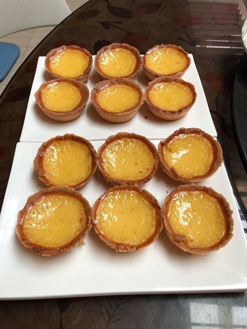 Hong Kong Style Egg Tarts Recipe by Tasty