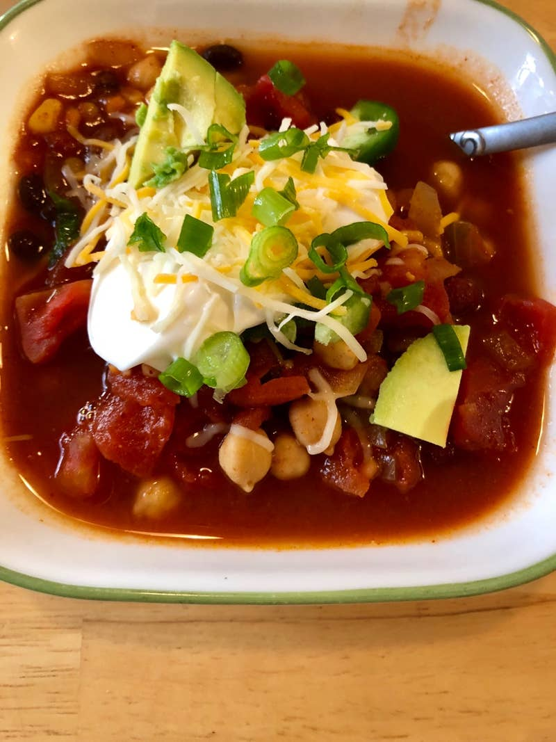 Freezer Prep Protein Packed Chili Recipe By Tasty
