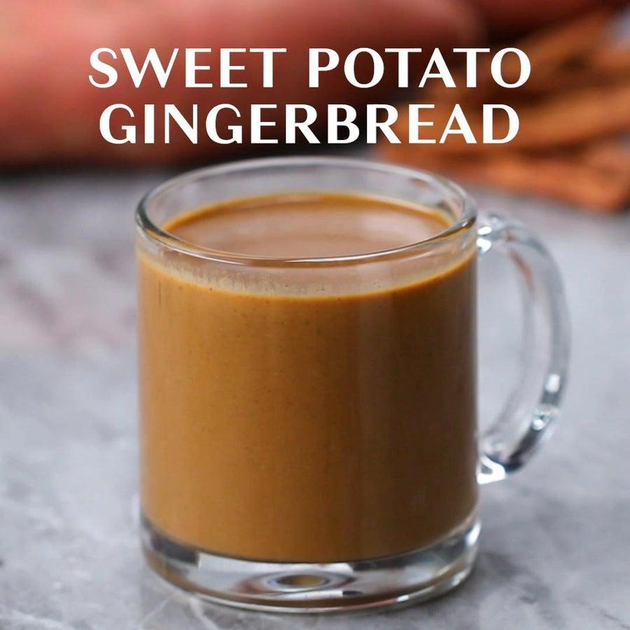Sweet Potato Gingerbread Winter Smoothie