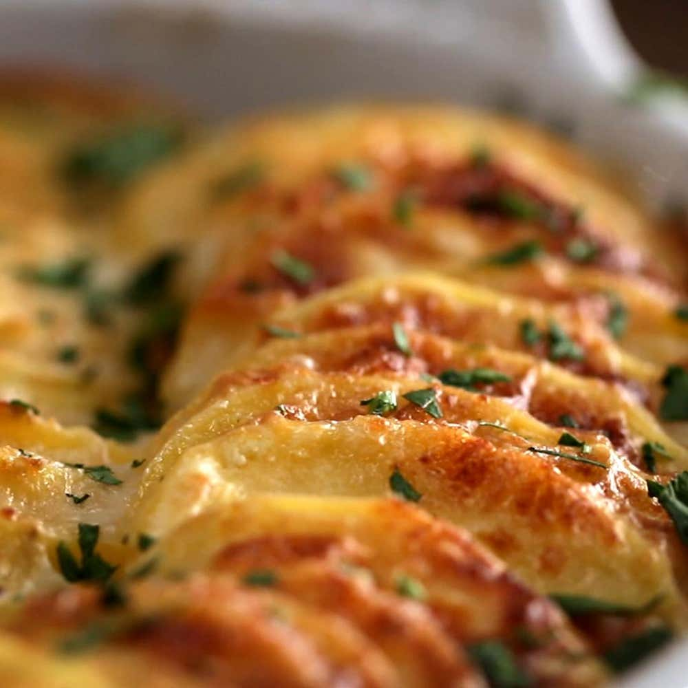 Scalloped Potatoes Recipe By Tasty
