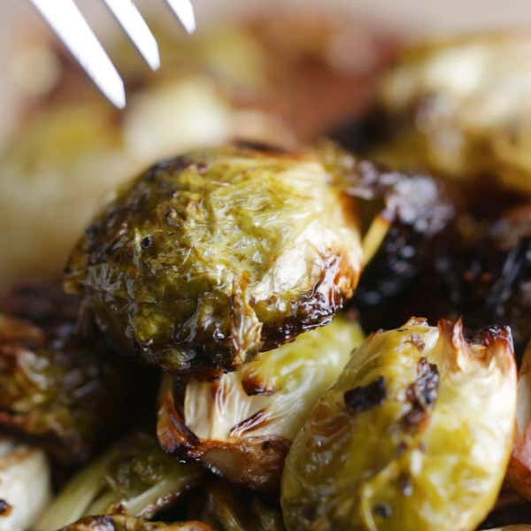 Brussel Sprout Recipes Balsamic Parmesan