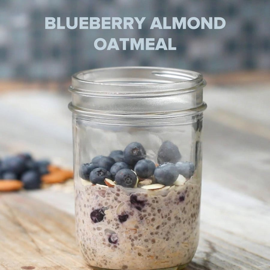 Blueberry Almond Instant Oatmeal