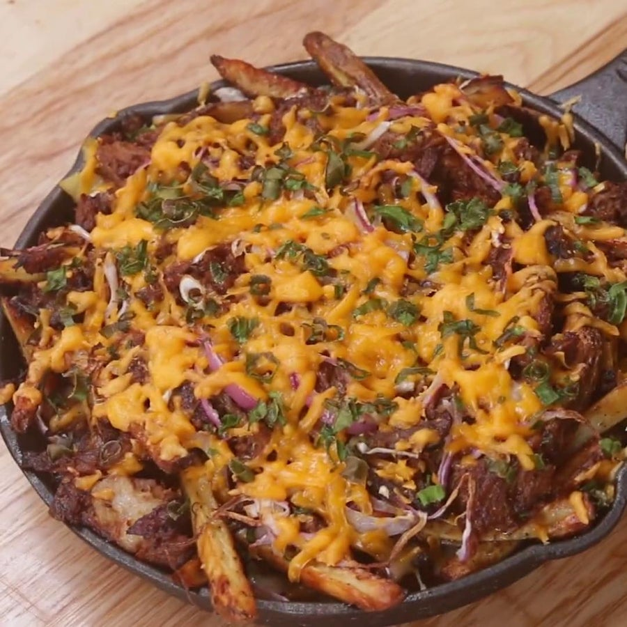 BBQ Pulled Pork Fries