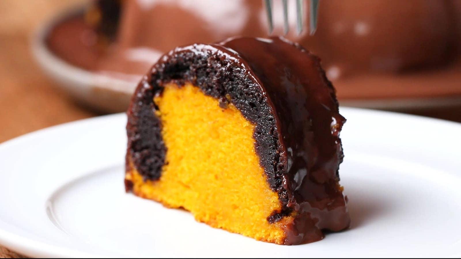 Brownie Carrot Cake