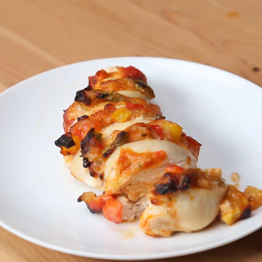 Fajita Hasselback Chicken