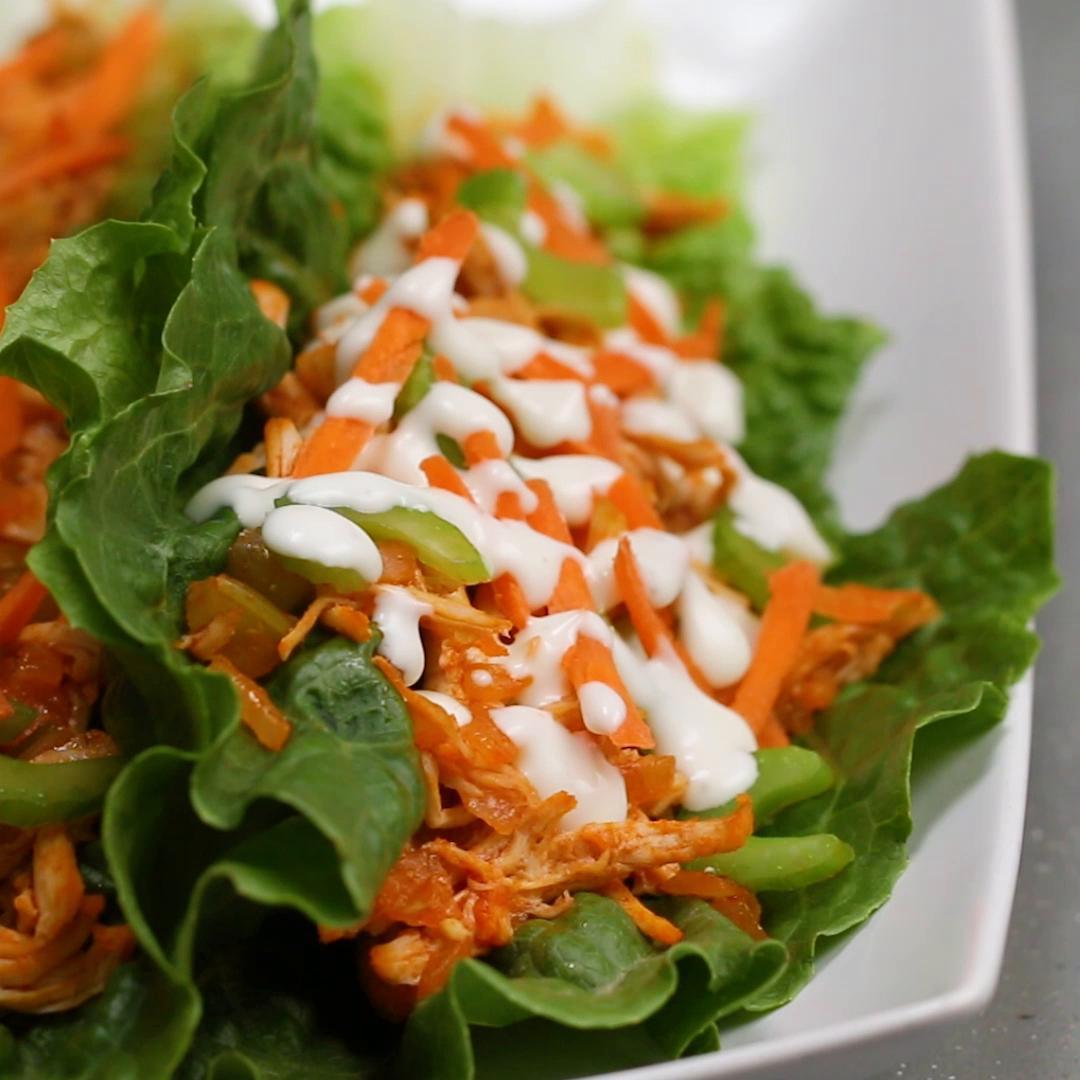 Chicken Lettuce Cups 4 Ways Recipes