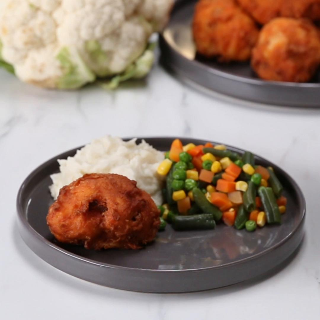 Spicy Fried Cauliflower Chicken Recipe By Tasty