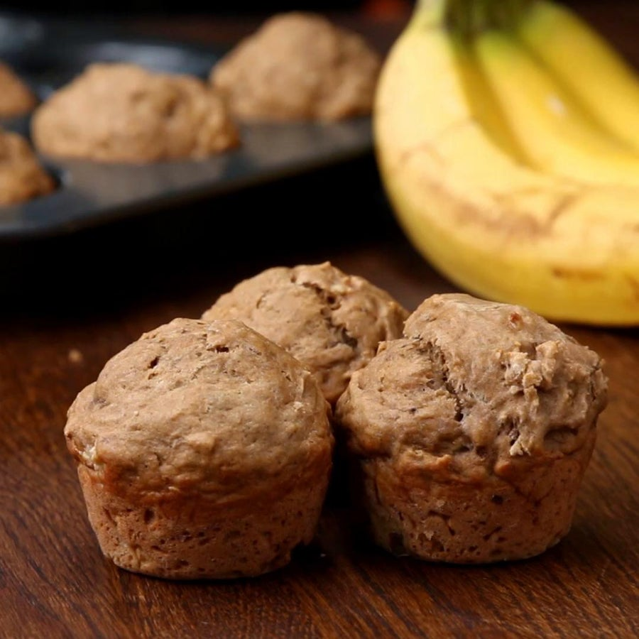 Make-Ahead Banana Muffins